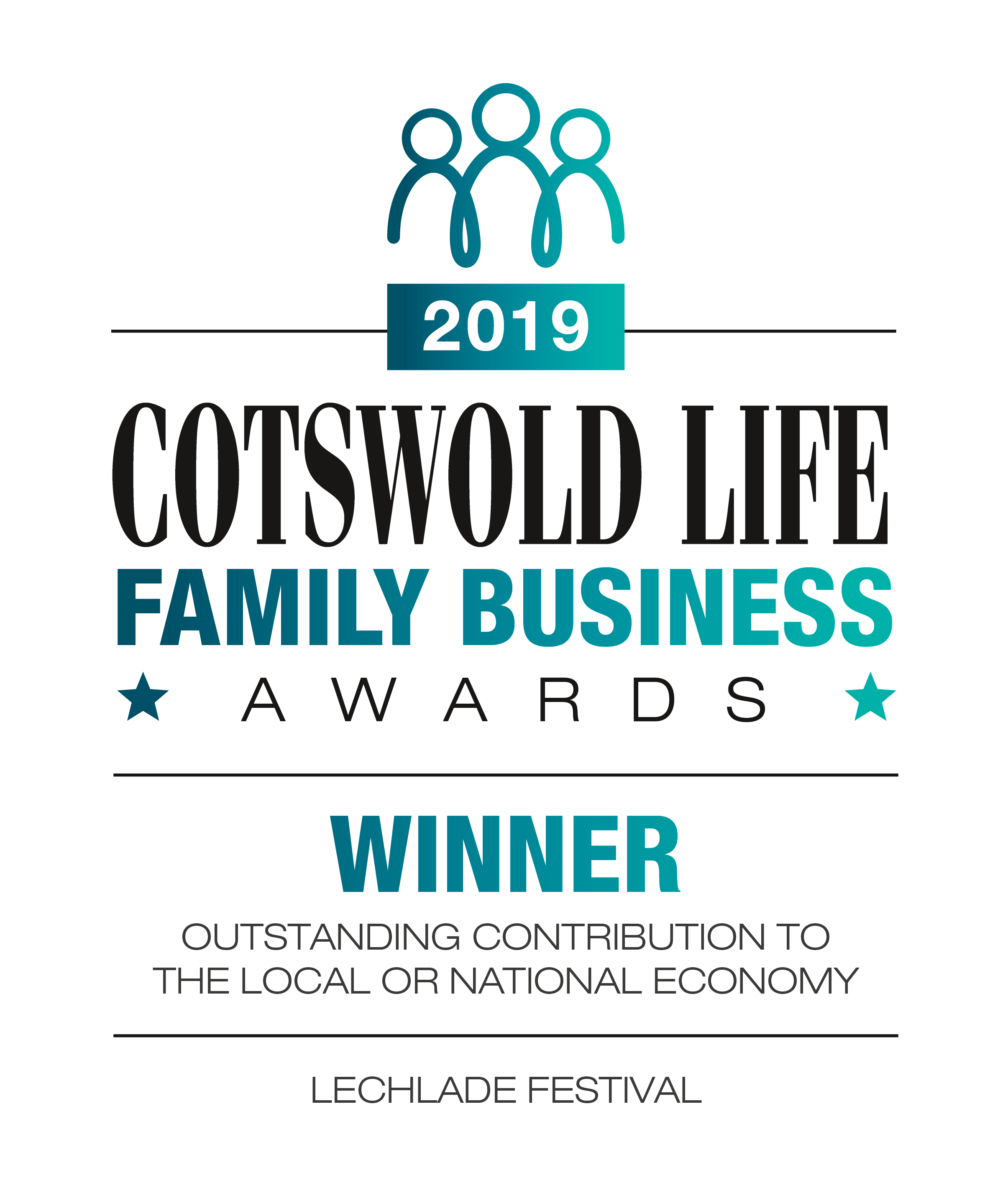 Cotswold Life Award 2019 Oustanding Contribution