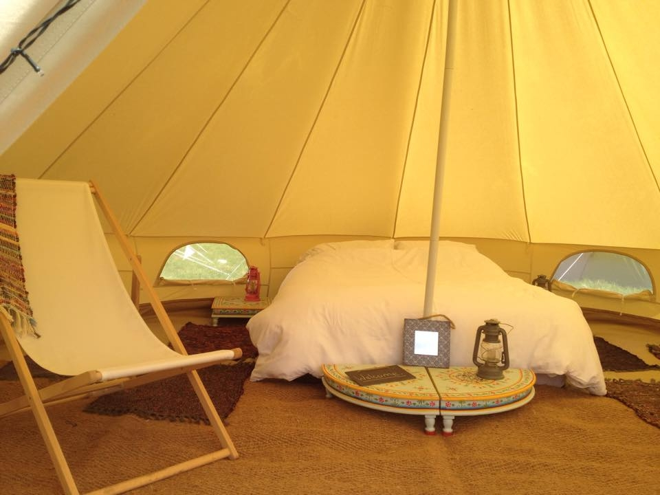 TREAT YOURSELF TO A BOUTIQUE CAMPING EXPERIENCE & Glamping
