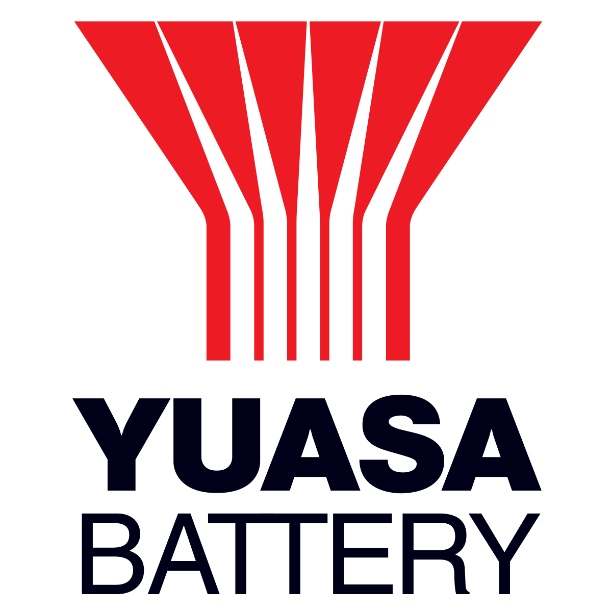 Yuasa Battery Logo for light background